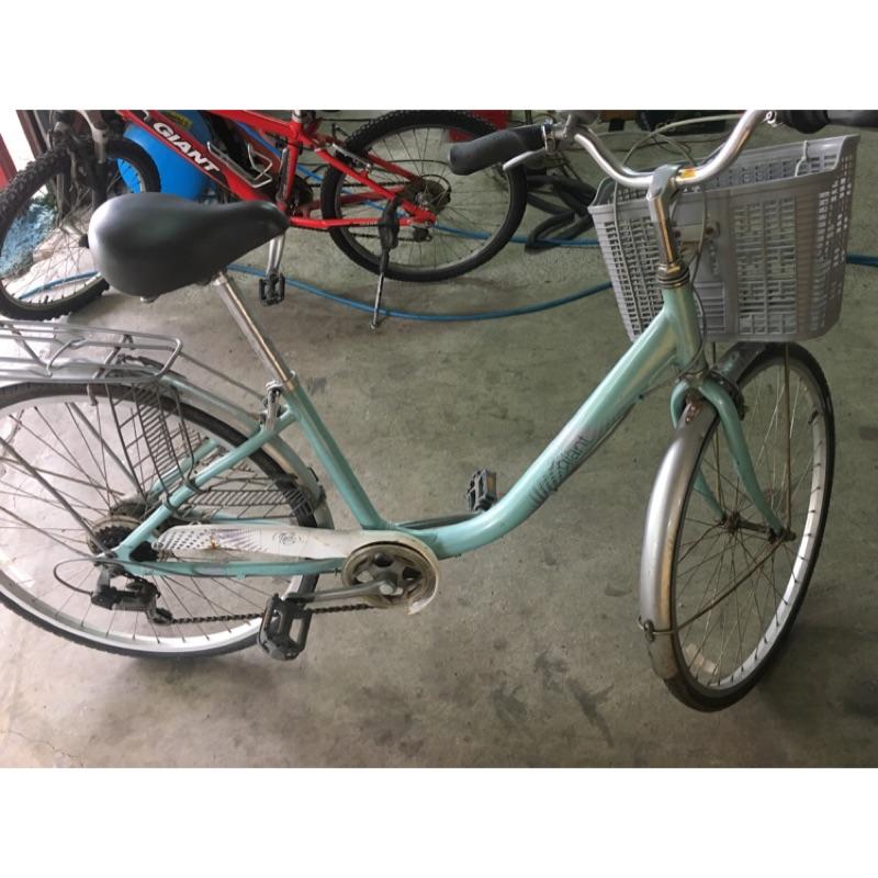 Giant淑女腳踏車T426黃24吋、T806 綠 26吋
