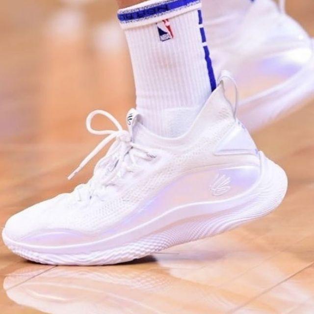 UA Curry 8 Wish Flow 金州勇士 咖哩 路人 明星賽 籃球鞋 男 3024422-104 剩10