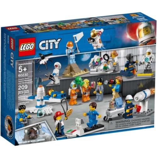 LEGO樂高積木 - City 城市系列 60230 人偶套裝 – 太空研究與開發