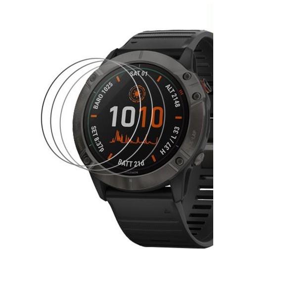 【玻璃保護貼】Garmin Fenix 6X / 6X Pro 1.4 吋 智慧手錶高透玻璃貼 螢幕保護貼 強化防刮
