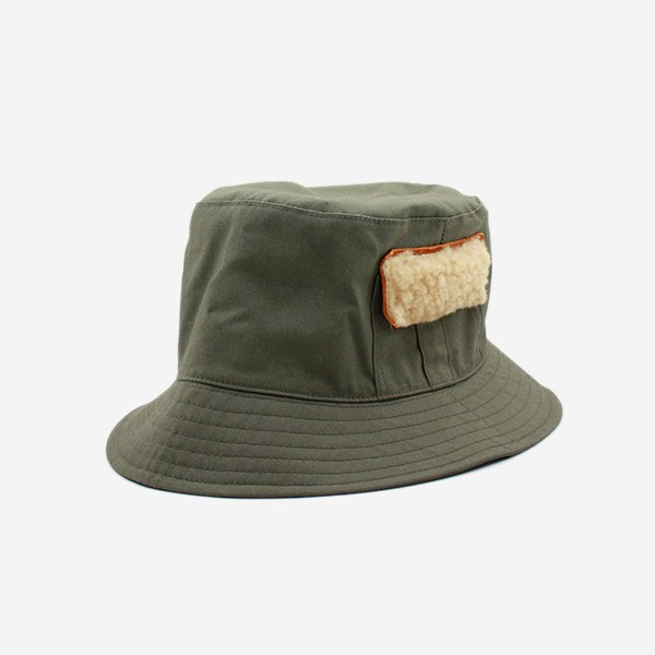 CABLEAMI - RIP-STOP FISHING HAT-OLIVE