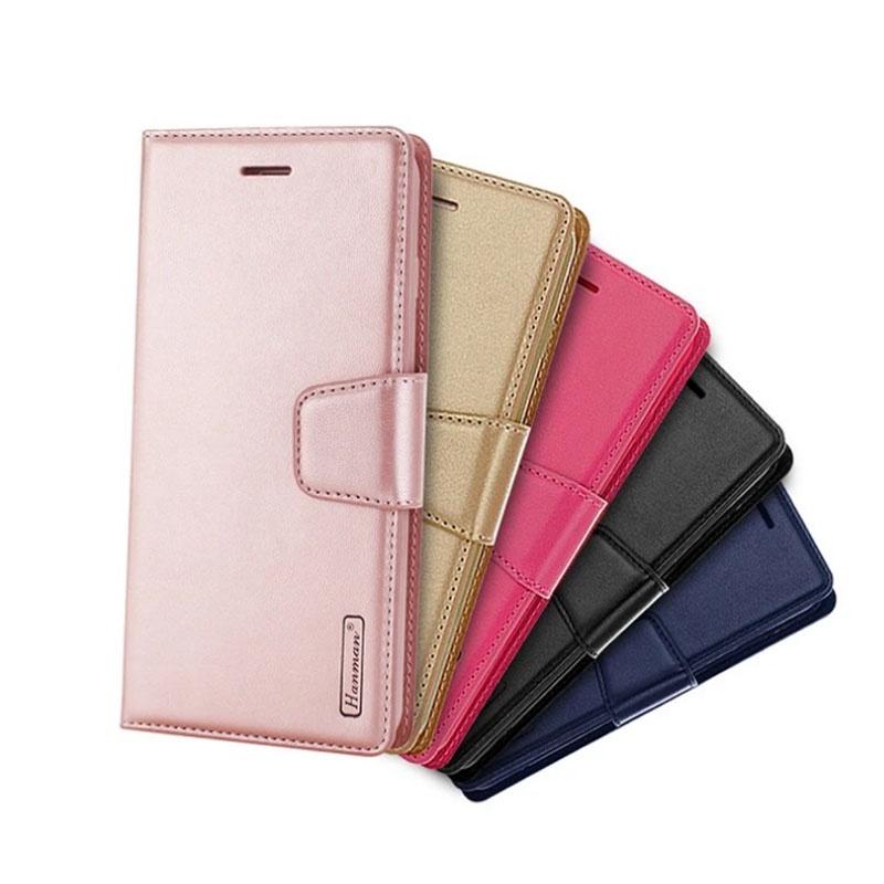 Hanman Sony Xperia 10 III 仿羊皮皮套  側掀保護套  插卡手機套