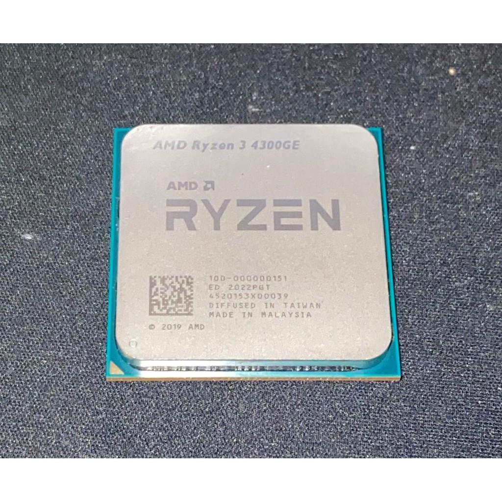 Ryzen 中古過保良品 AMD AM4 4300GE 1600 2600 2600x  3500 R5 R7