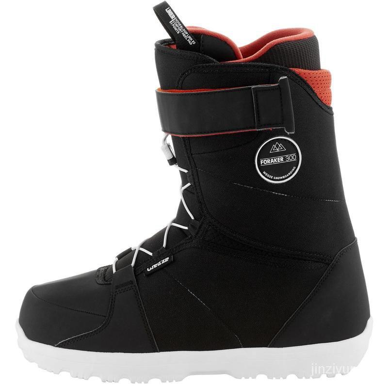 【滑雪必備】迪卡儂單板滑雪鞋成人男女初學者入門雪靴滑雪裝備雪具WEDZE6  大件必須宅配!!