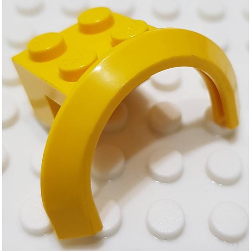 樂高 50745 3221 70814 黃色 輪拱 擋泥板 配件
