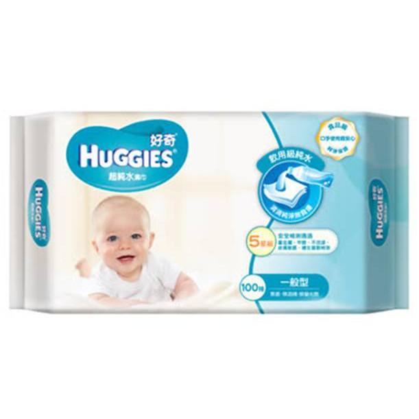 【好奇】純水嬰兒濕巾厚型80抽(含運)