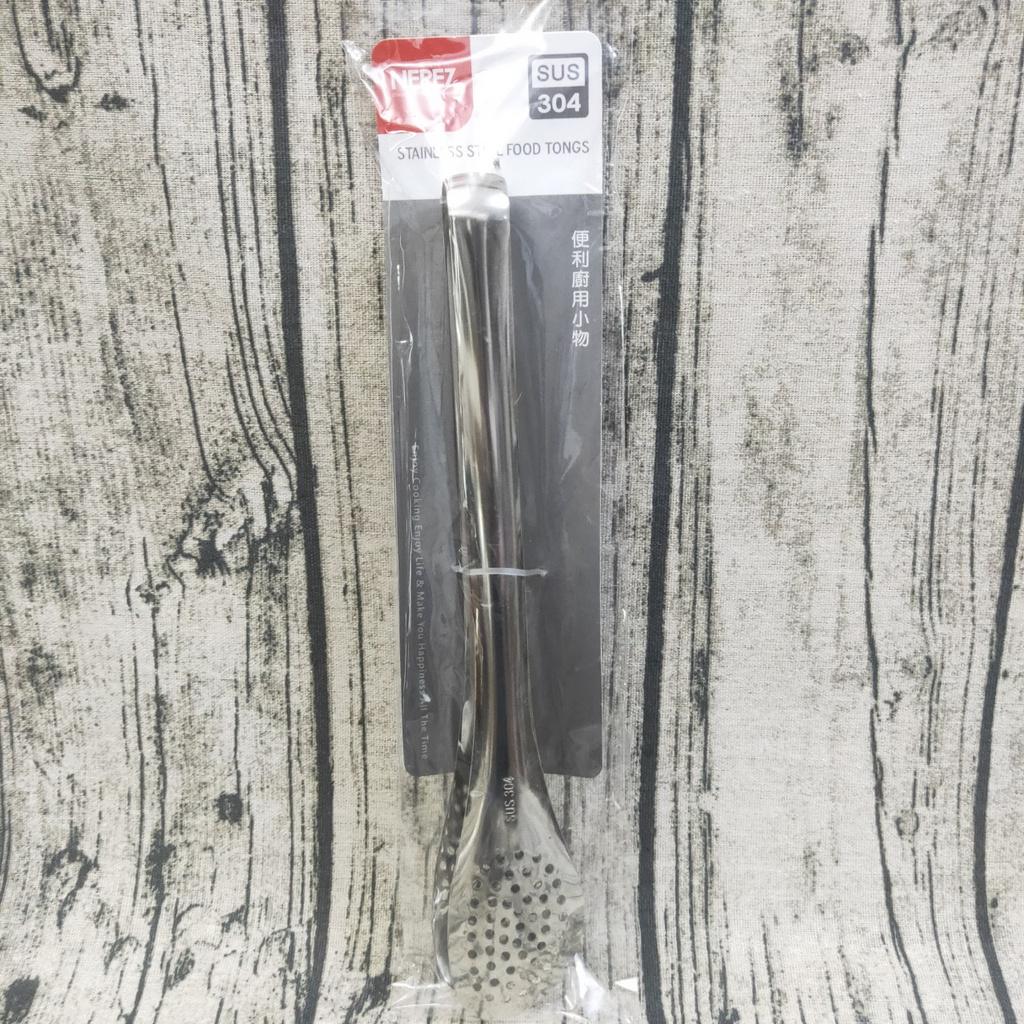 【有發票】NEREZ 耐樂斯 304不鏽鋼日式夾 撈麵夾 萬用夾 食物夾 撈麵 料理夾子 麵夾