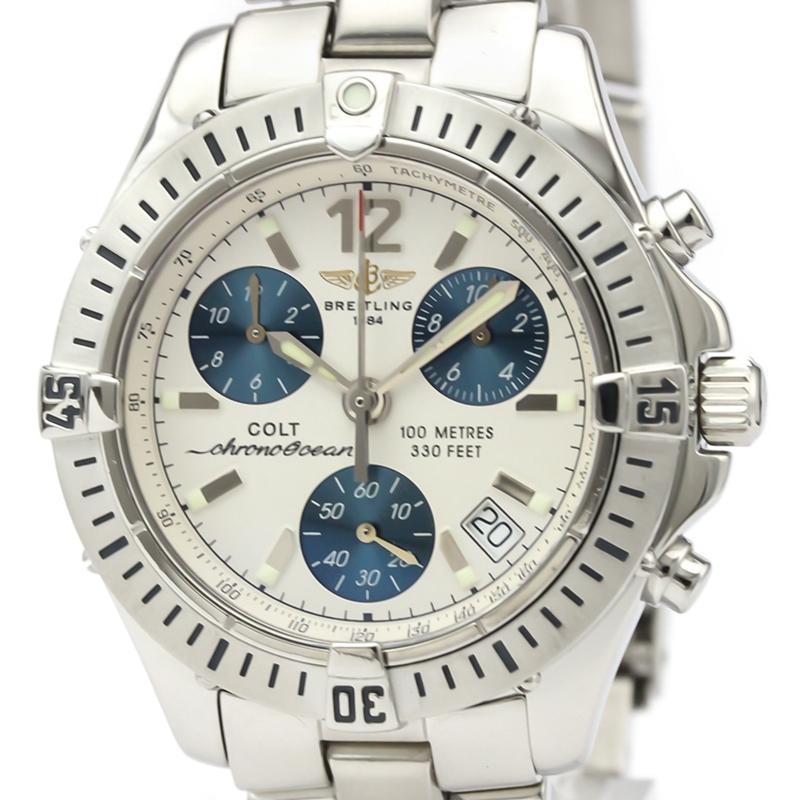 Breitling 百年靈 計時男錶 自動機械 A53350 二手錶 瑞士原裝 正品 98新