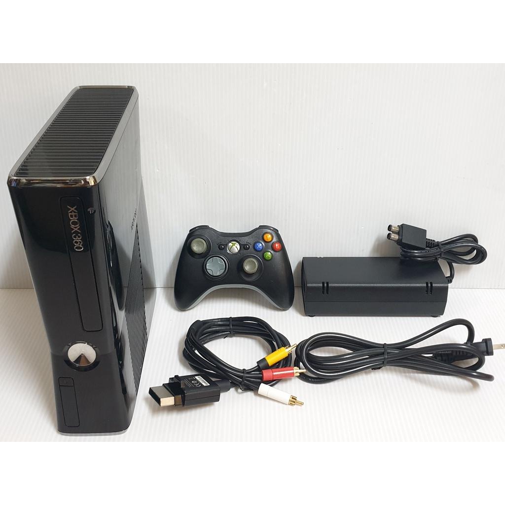 {哈帝電玩}~XBOX360 遊戲主機 Slim薄機 無硬碟 無改機 無拆修紀錄 少用 功能正常良好~