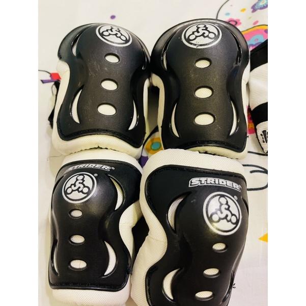正版公司貨STRIDER整套護具(護膝、護肘、手套)滑步車、腳踏車好幫手