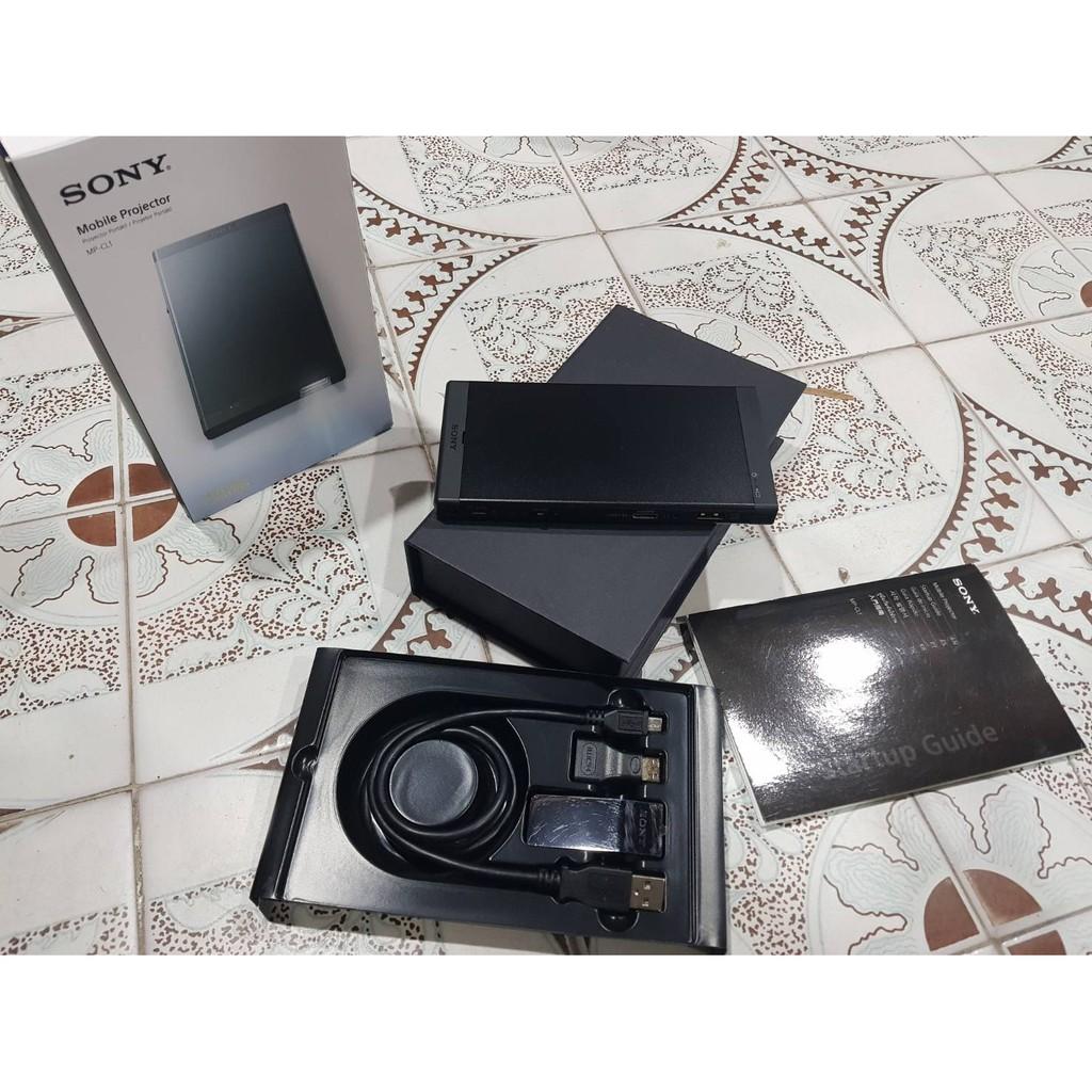 二手如新 Sony 行動微型投影機 MP-CL1 非MP-CL1A