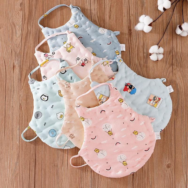 【yiyi】嬰兒肚兜純棉男女寶寶護肚子神器兒童護肚圍大童睡覺防踢被秋冬季