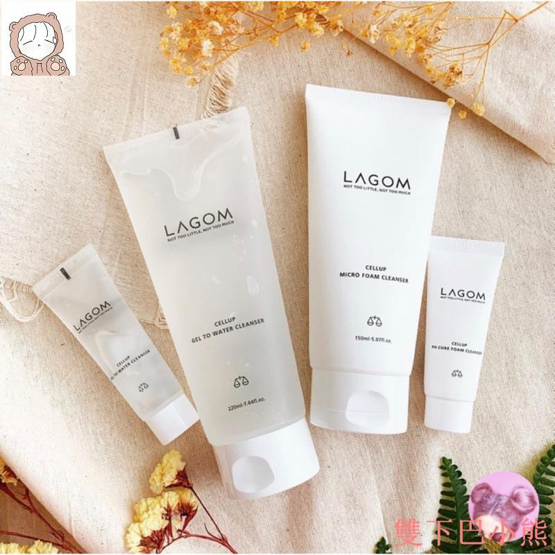 韓國 Lagom 保濕泡沫洗面乳 超細緻泡沫 深層清潔 洗面乳桃桃