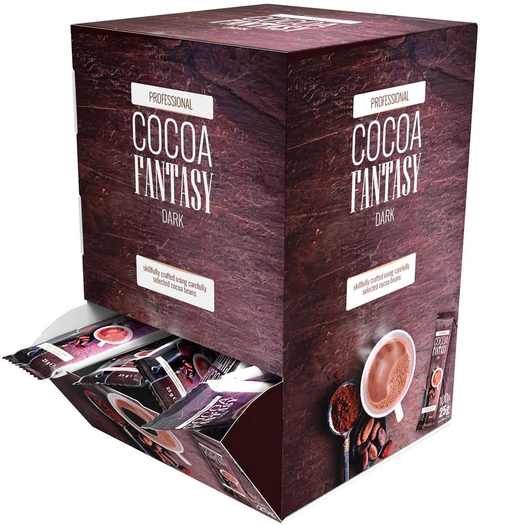 【預購】德國代購 德國購買 ~ 德國Jacobs Cocoa Fantasy 27%香濃可可粉(一盒100包)