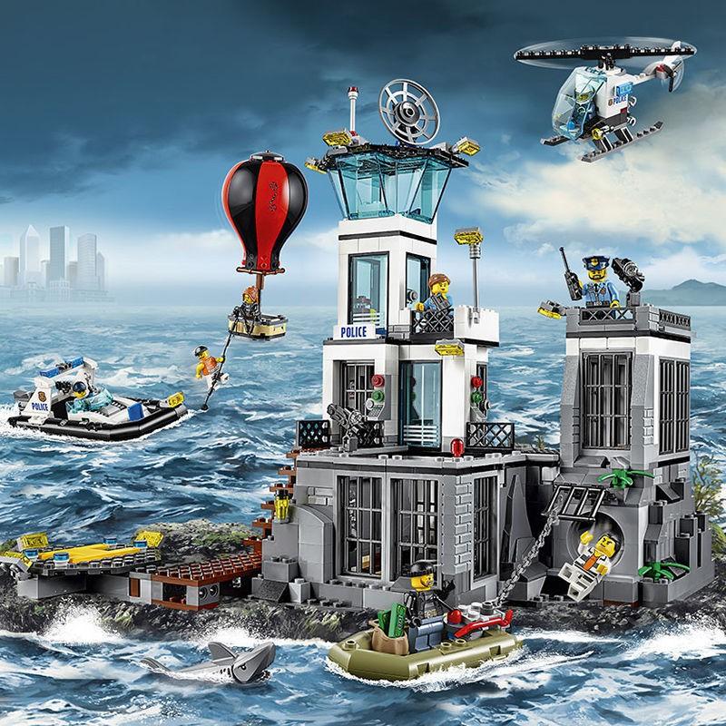 【廠家直銷】樂高積木城市系列警察局拼裝消防總局飛機火箭益智男孩子兒童玩具