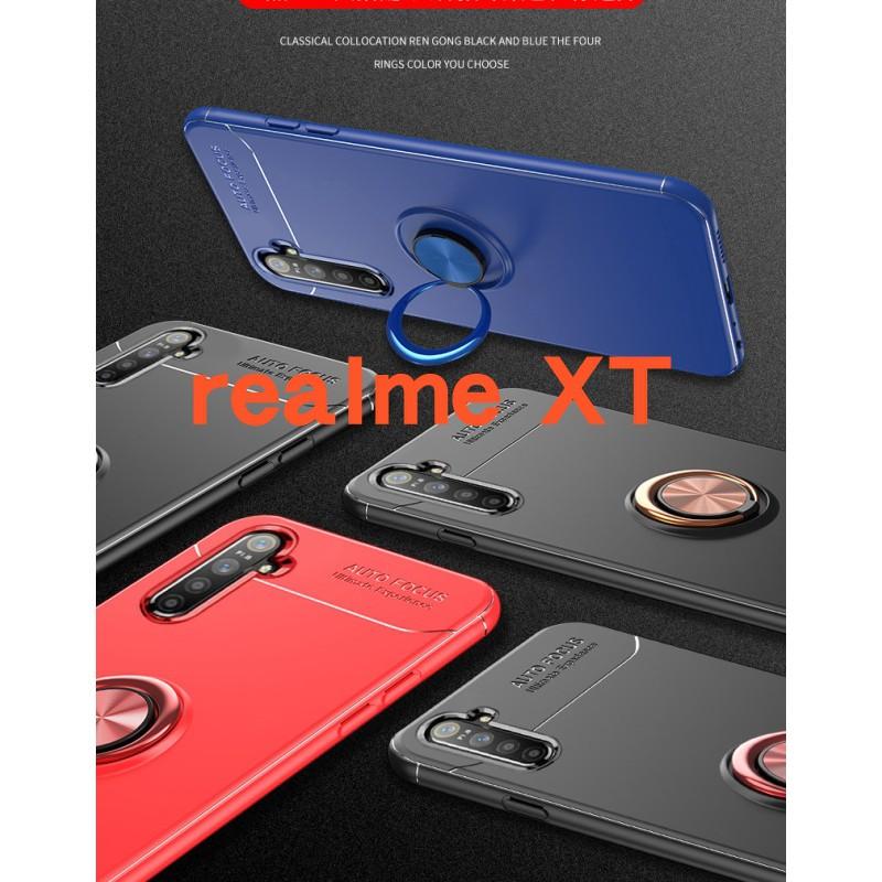 【指環扣手機殼】超薄隱形支架磁吸車載立式軍規 realme GT C3 C21 7 8 XT X50 X3 X7 pro