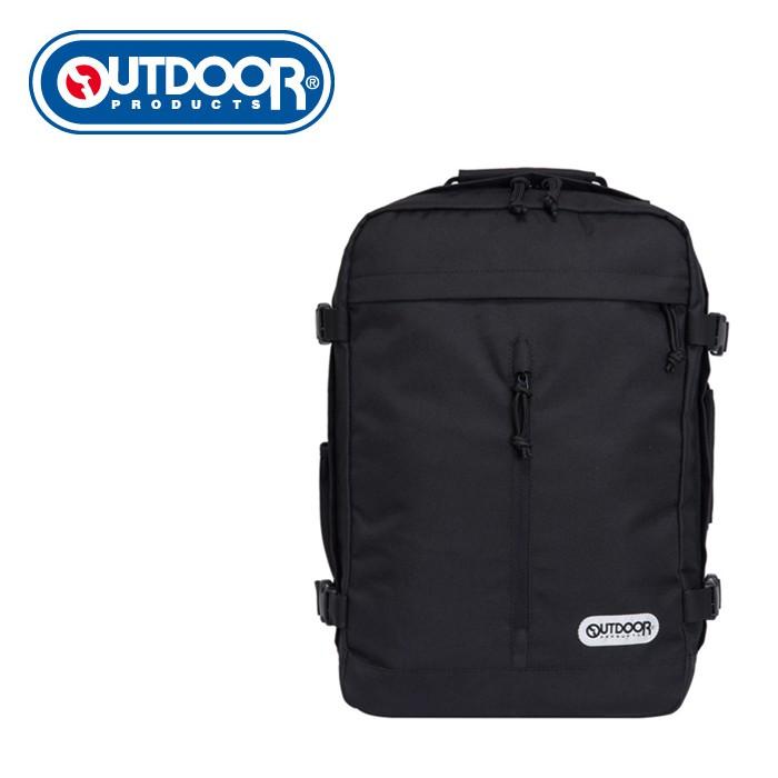 OUTDOOR 悠遊寰旅-15.6吋筆電後背包-黑色 OD281102BK