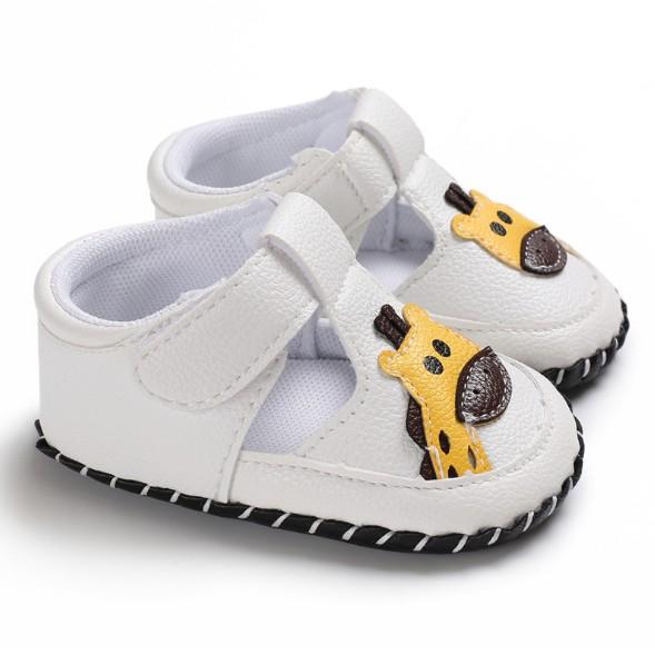 童鞋 0-1歲卡通圖案男女寶寶膠底防滑嬰兒學步鞋 寶寶鞋 嬰兒鞋