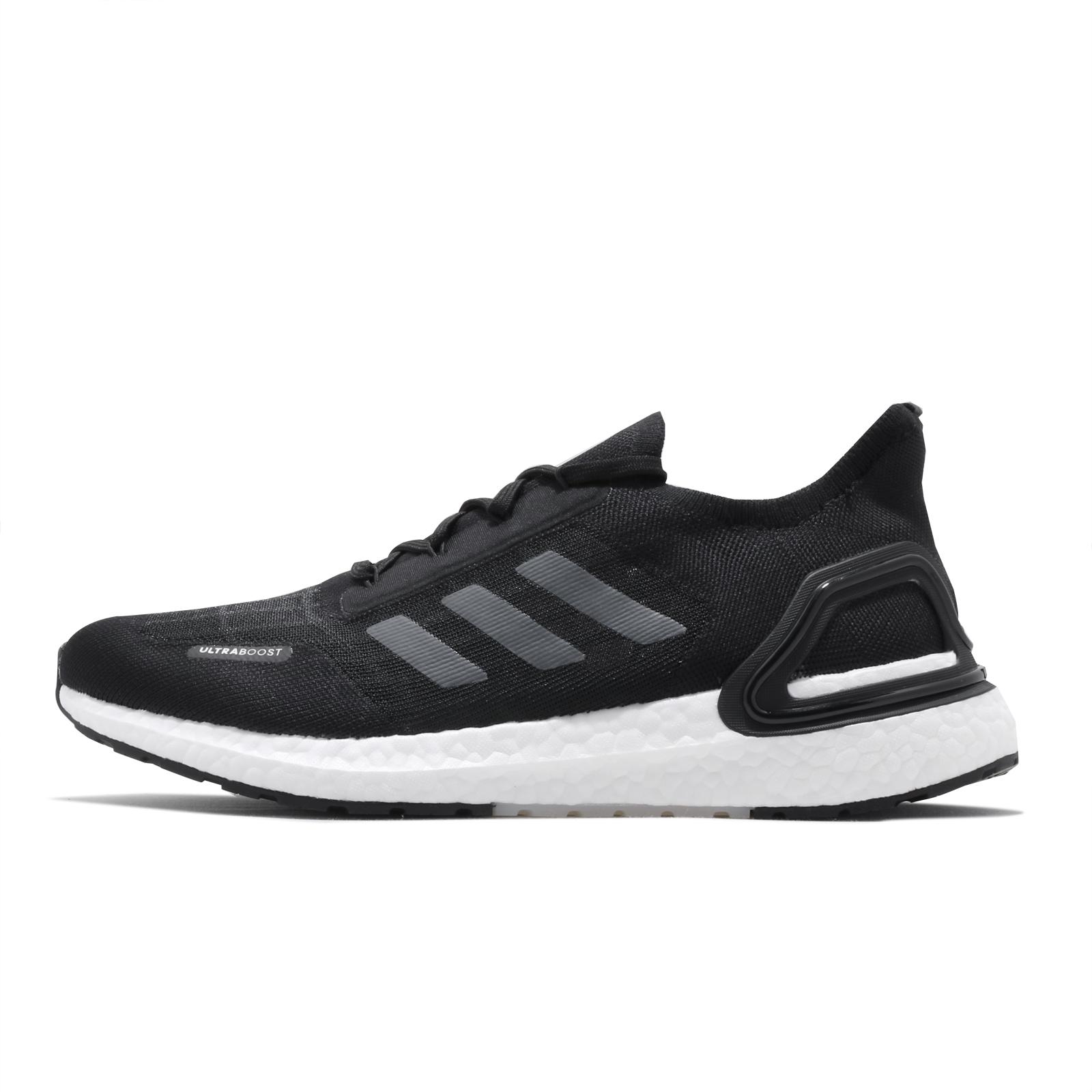 adidas 慢跑鞋 UltraBOOST Summer.RDY 黑灰 白 男鞋 愛迪達 運動鞋【ACS】 EG0748