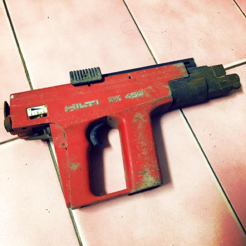 HILTI DX450 火藥擊釘槍|喜利得|喜得釘|火藥槍|火藥擊釘器|鑽牆|打洞