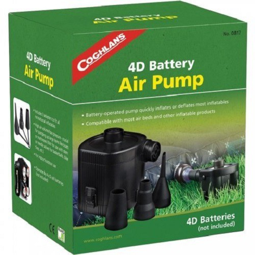 Coghlans #0817 電池式電動充氣幫浦 4D Battery Air Pump