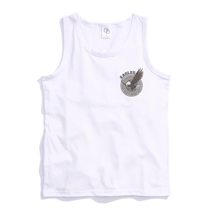ONE DAY 台灣製 162C327 素背心 寬鬆衣服 短袖衣服 衣服 T恤 短T 素T 寬鬆短袖 背心 透氣背心