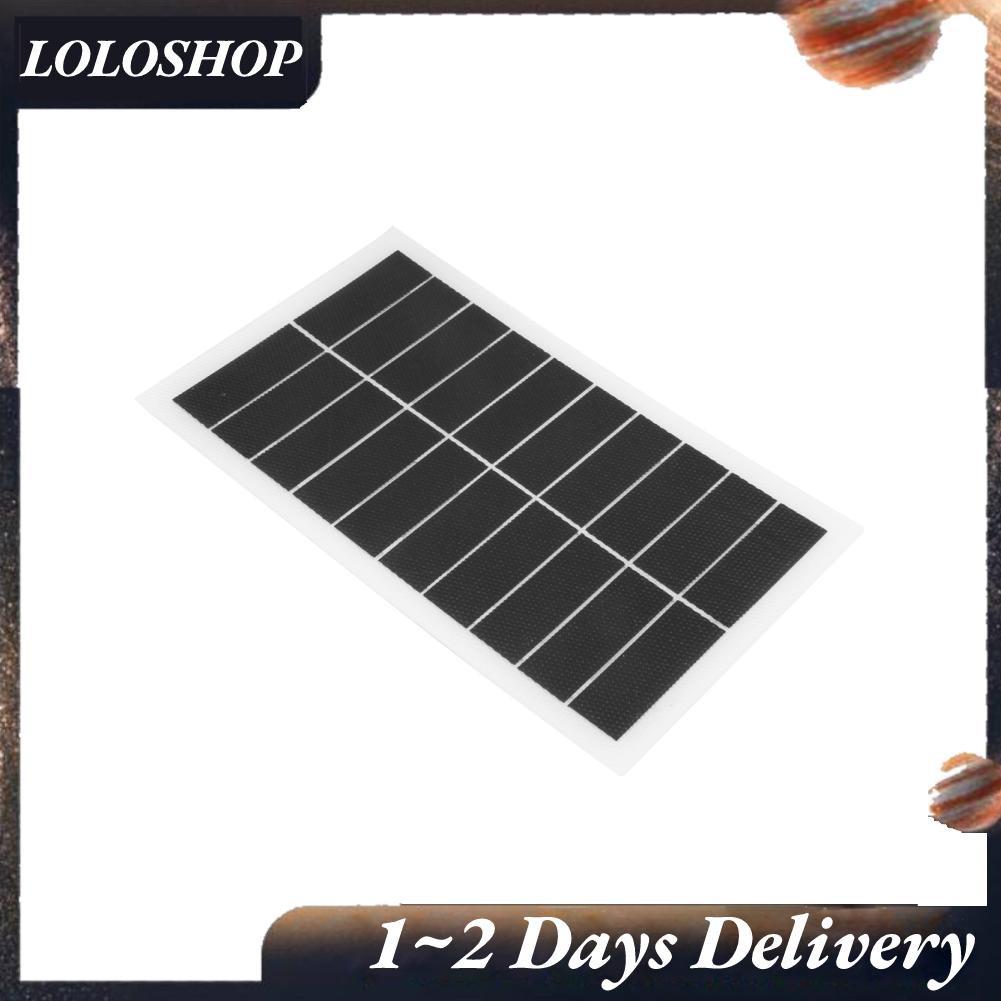 Loloshop 7w 10v 輕型太陽能電池板緊湊型 Etfe 電池模塊半 ≤ 柔性 Sunpower