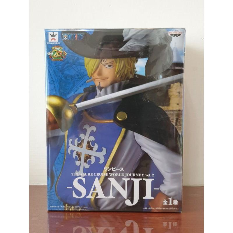 【海賊王 寶藏CRUISE世界的旅程系列】vol.2 SANJI 香吉士 騎士裝扮造形 日空版金證