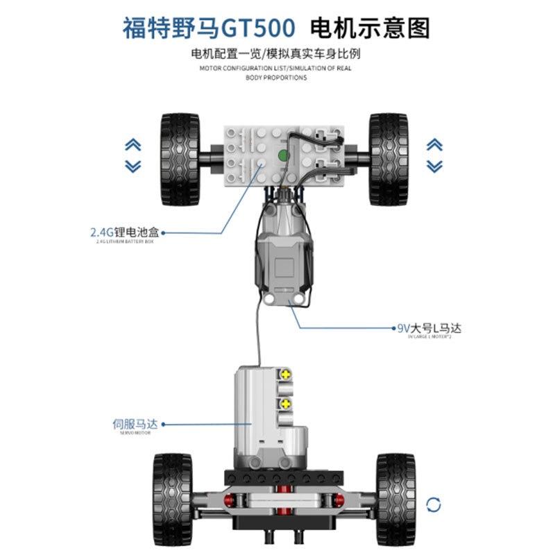 【特價優惠】信宇盤古PG-14001拼裝積木 男孩子益智動手拆裝仿真賽車模型玩具