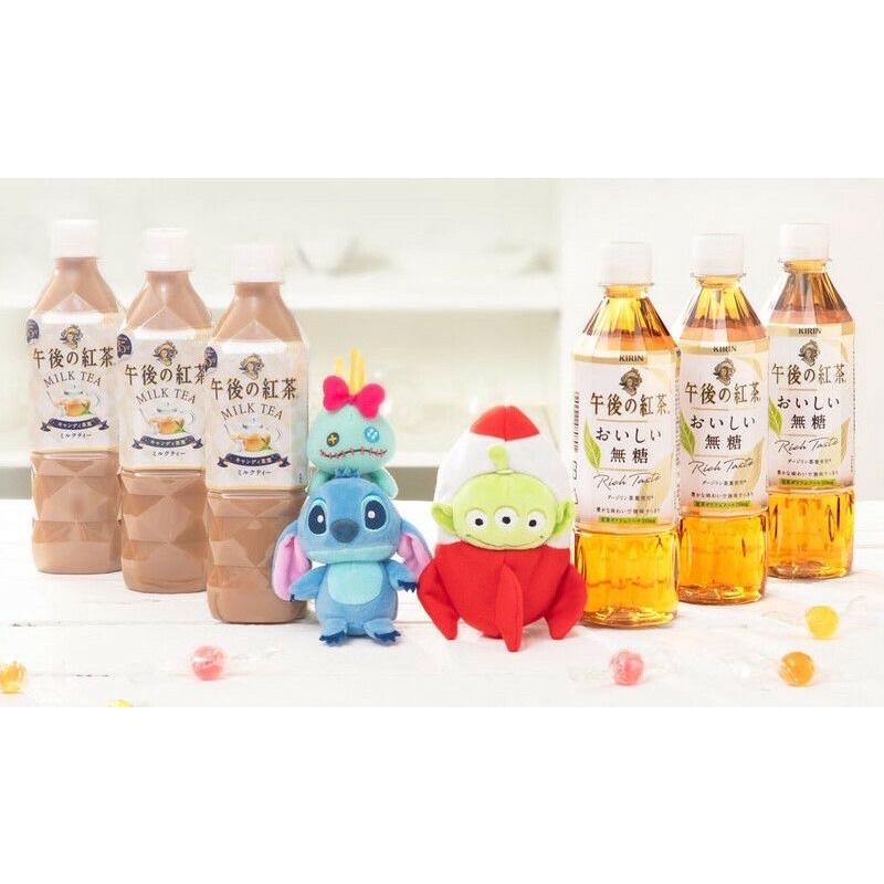 (現貨)7-11限量午後紅茶送娃娃系列  迪士尼 小豬 維尼熊 三眼怪 史迪奇(含飲料)