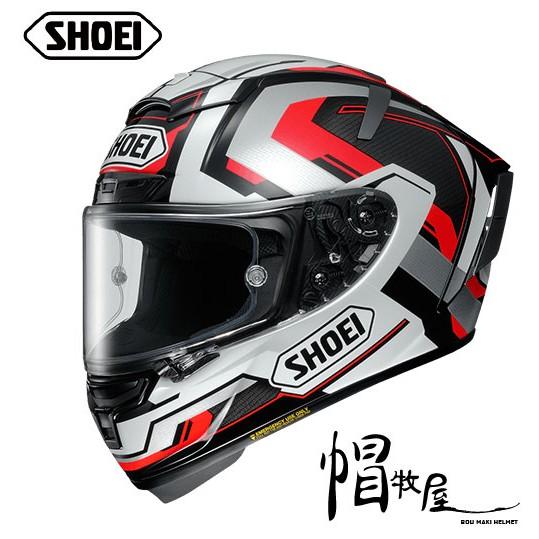 【帽牧屋】日本 SHOEI X14 BRINK 全罩式安全帽 進口帽 頂級款 選手帽 白/黑