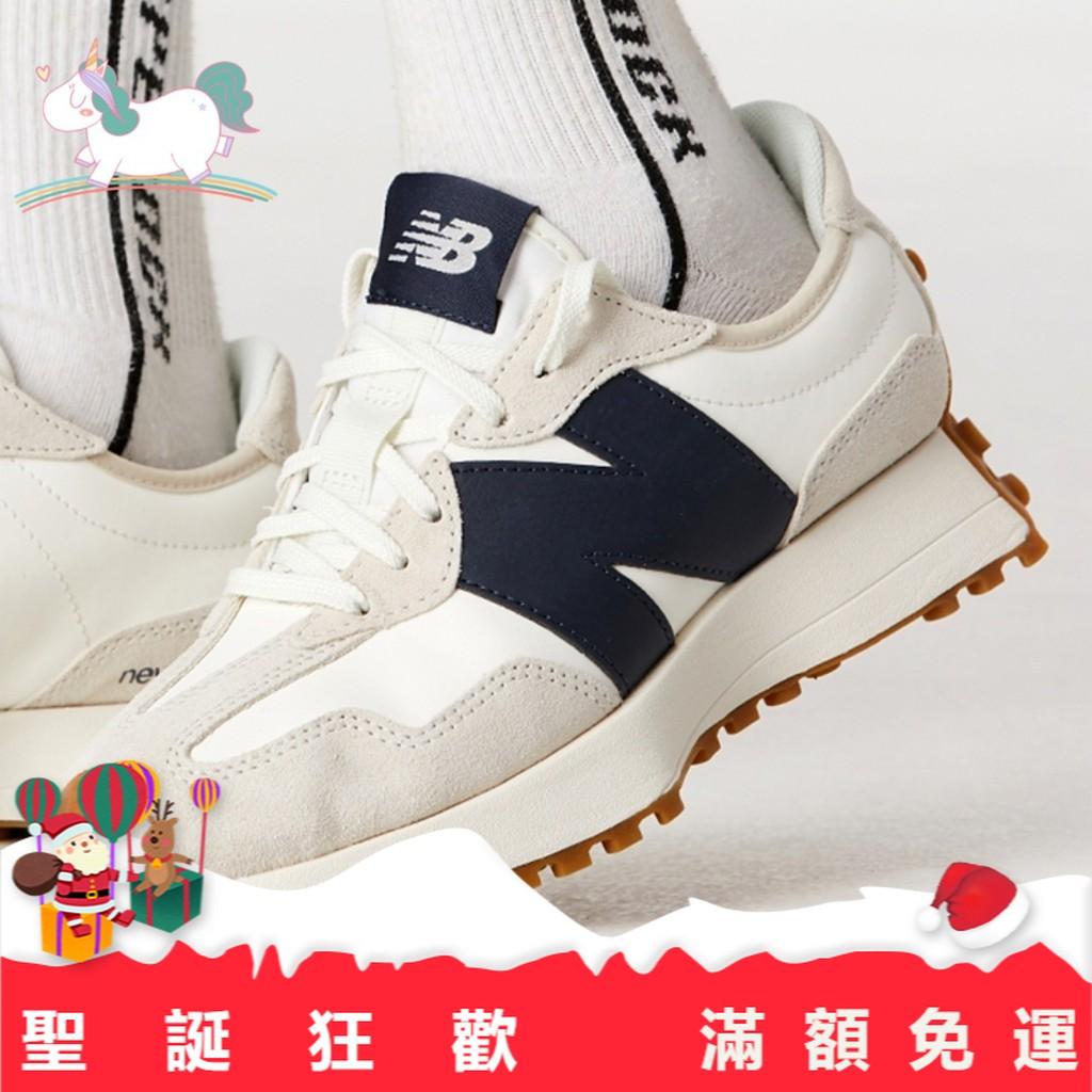 ✿Mina✿韓國代購 現貨 new balance 327 復古 藍 紅白 nb327 ws327kb 休閒鞋