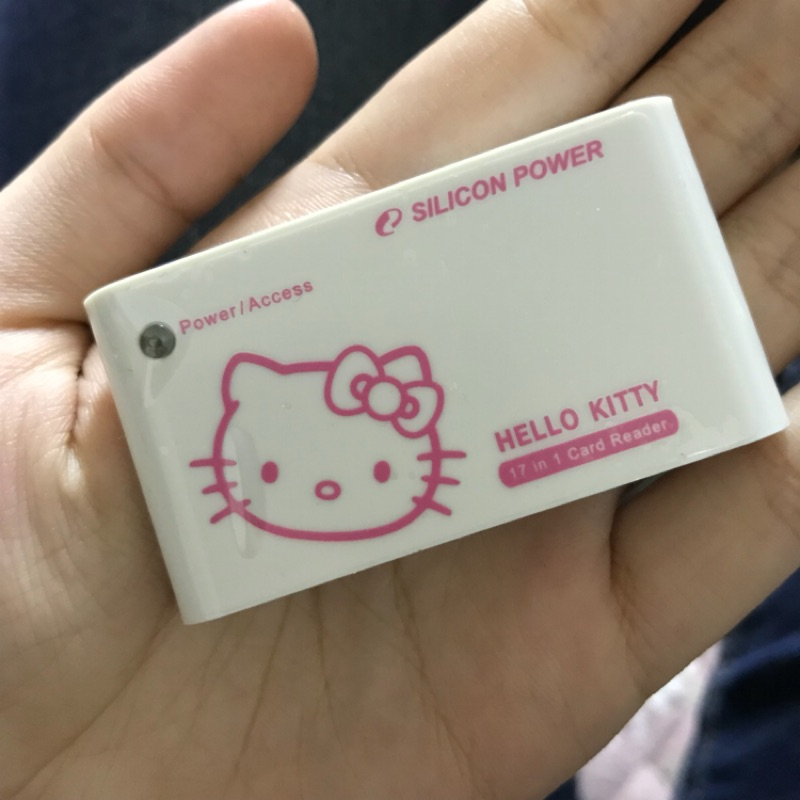 (現貨🖤)2006年全球限量台灣限定 Hello kitty 17 in 1 讀卡機