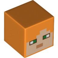磚家 LEGO 樂高 人偶 Minecraft 創世神 Alex 頭 21128 21133 21134 21152
