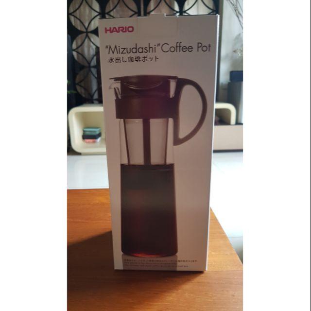 日本製造Hario咖啡冷泡茶壺1000c.c、New Balance單手開關保溫水壺350c.c