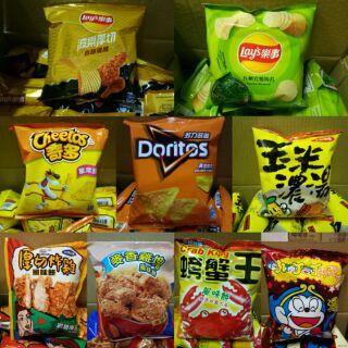 太空包餅乾/ 奇多/ 樂事/ 多力多滋/ 玉米濃湯/ 小叮叮/ 麥香雞塊 嘉義市