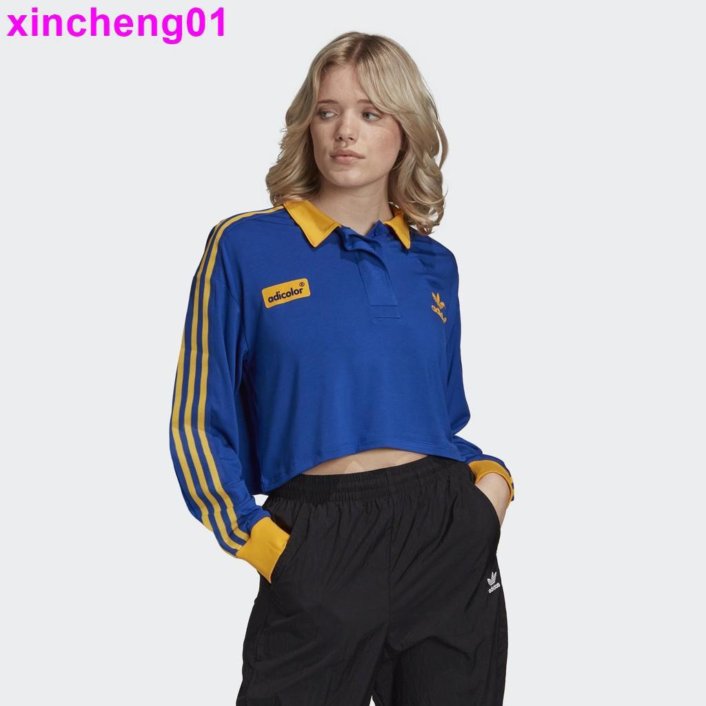 【檸萌】ADIDAS ADICOLOR 0s 3-Stripes Long Sleeve Tee 女長袖上衣GD2301