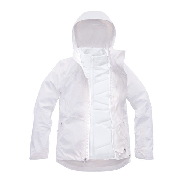 美國[The North Face]W CLEMENTINE TRICLIMATE JACKET/女款2件式保暖防水外套