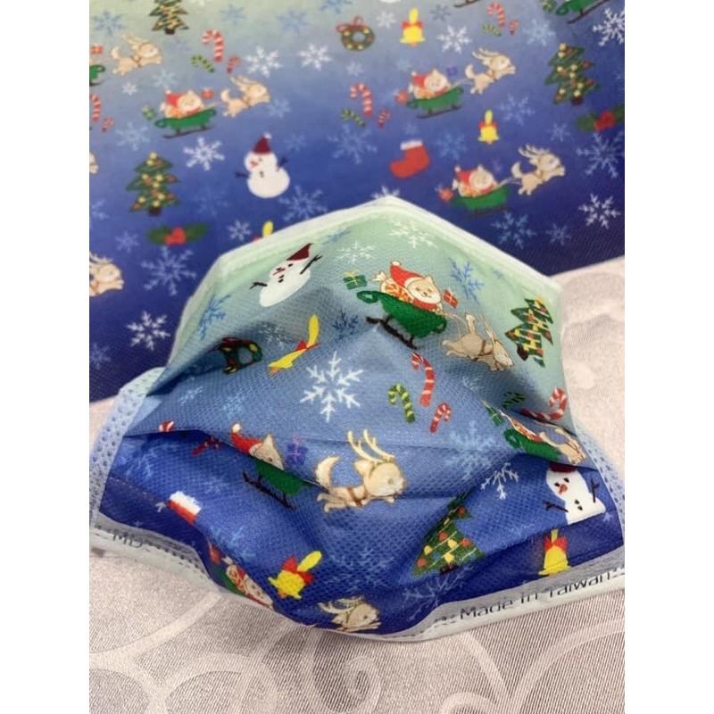 現貨 MD雙鋼印 尚格醫用口罩-聖誕節🎄(50入/盒)