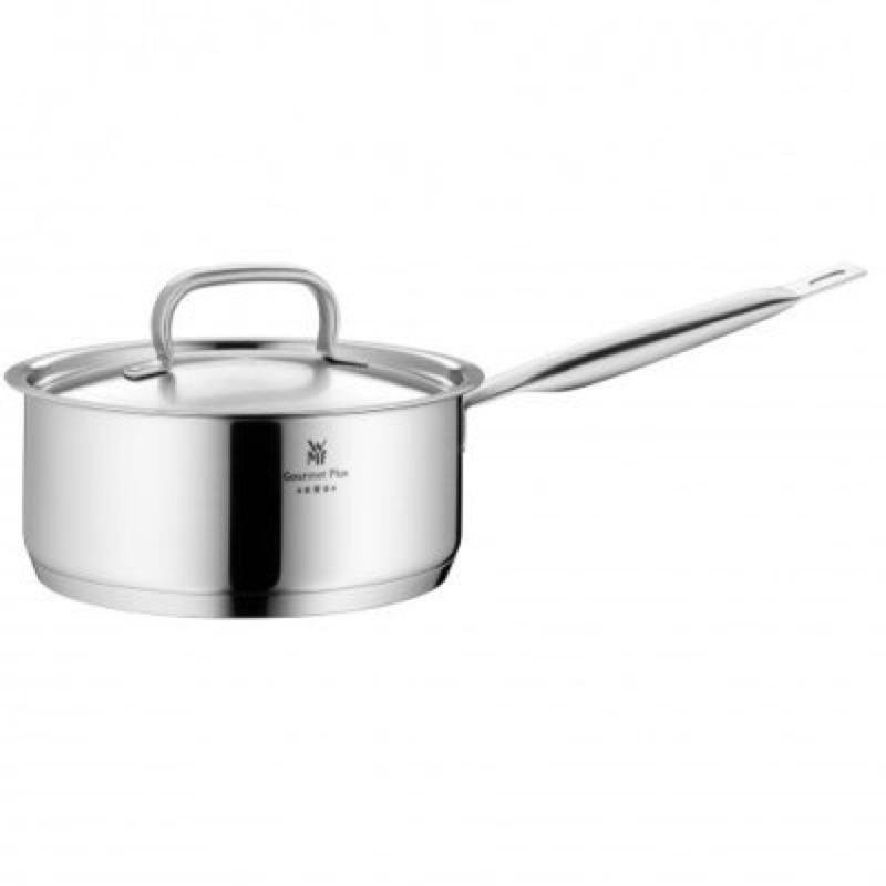 Über 德國WMF 0726166030 Ø 16cm Gourmet Plus 不鏽鋼長柄湯鍋1.4L (含蓋子)
