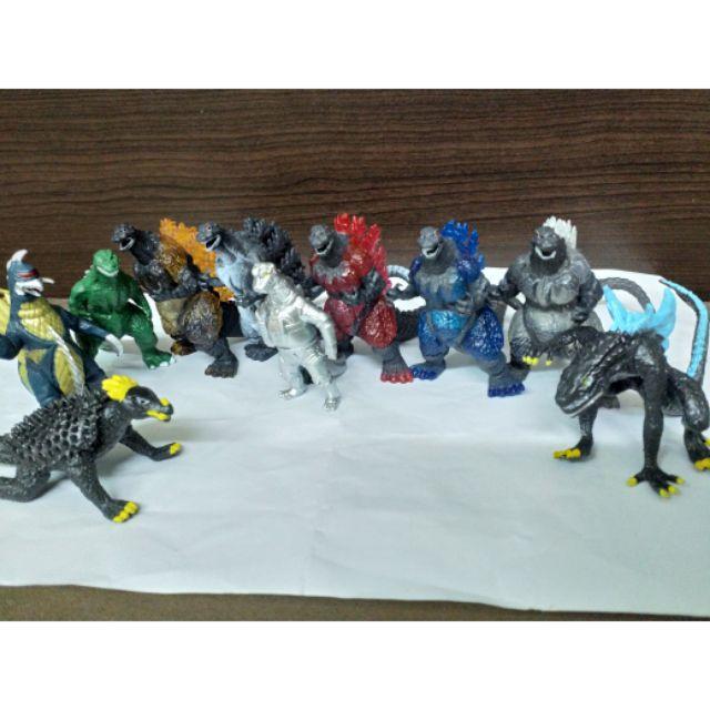 哥吉拉 酷斯拉 公仔 擺飾 玩具 蓋剛 紅蓮哥吉拉 藍色哥吉拉 雪白哥吉拉  機械哥吉拉 安其斯拉 綠色哥吉拉