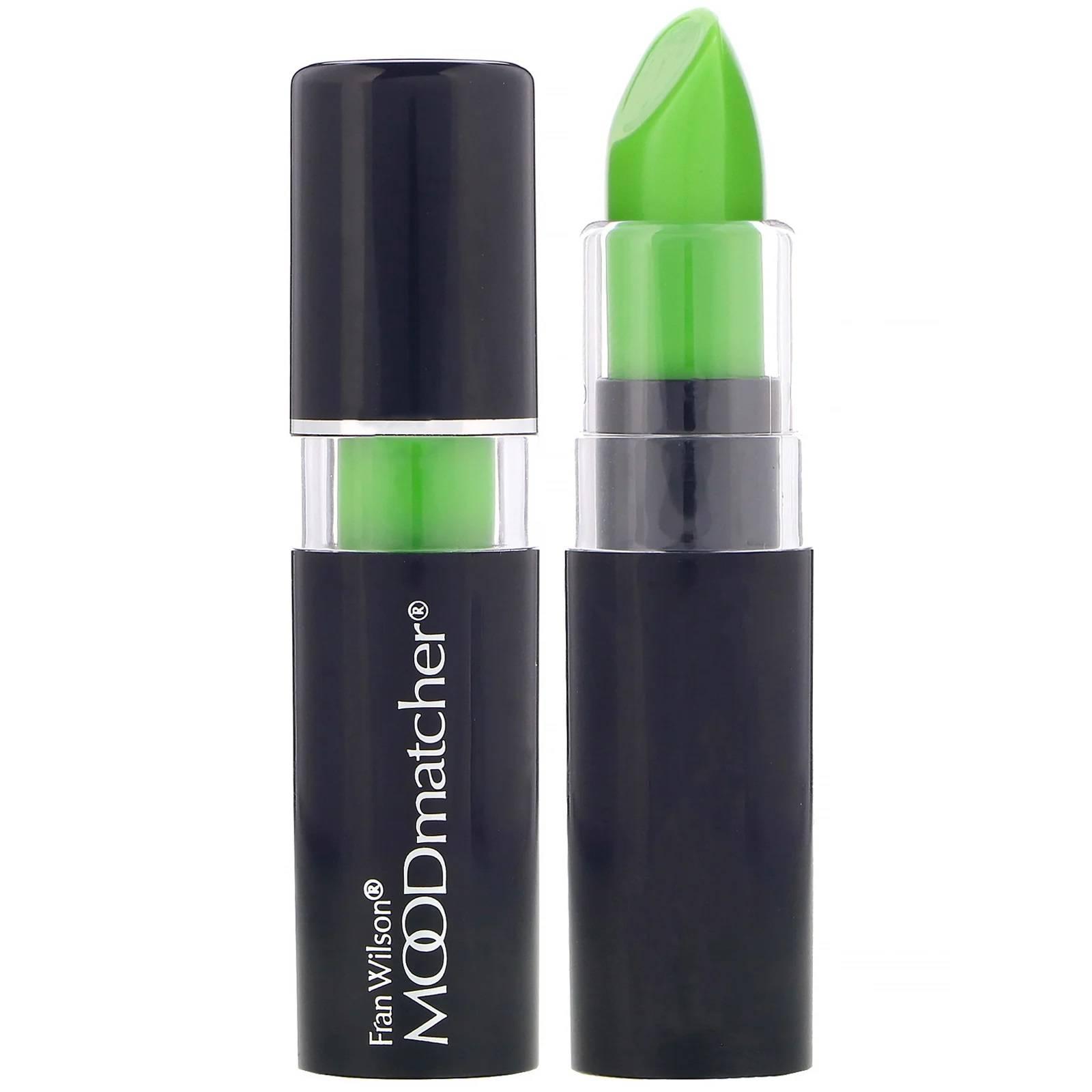 Moodmatcher 唇膏 3.5公克 綠 粉 黃 橙 藍 五種顏色 Mood matcher