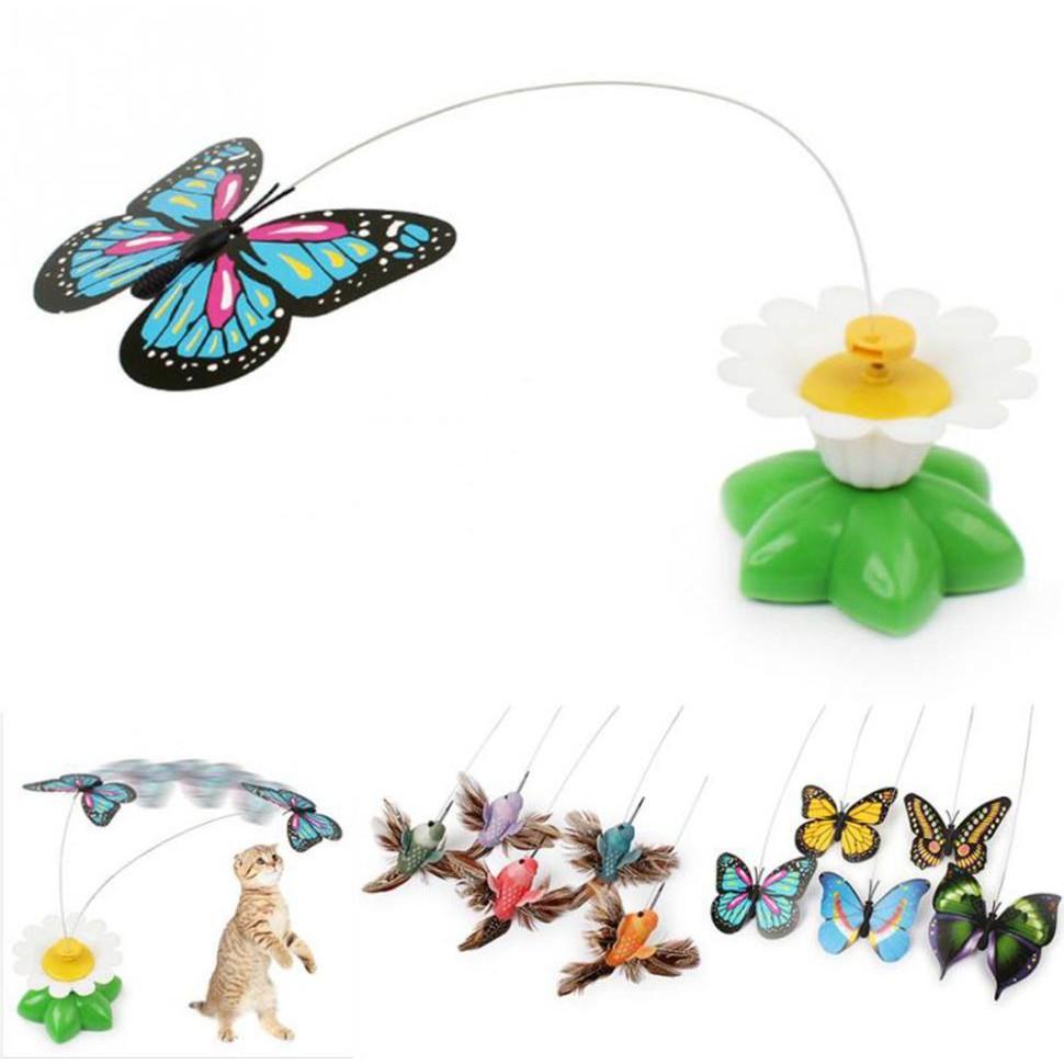 玩具蝴蝶 電動兒童蜂鳥玩具轉圈-太陽花蝴蝶 汽車擺件