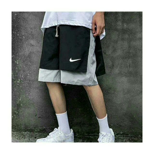 免運費 Nike 解構 層次 忍者 工裝 短褲 衝鋒 fog cdg 古著 情侶 休閒 籃球 球鞋 白鞋 老爹鞋穿搭