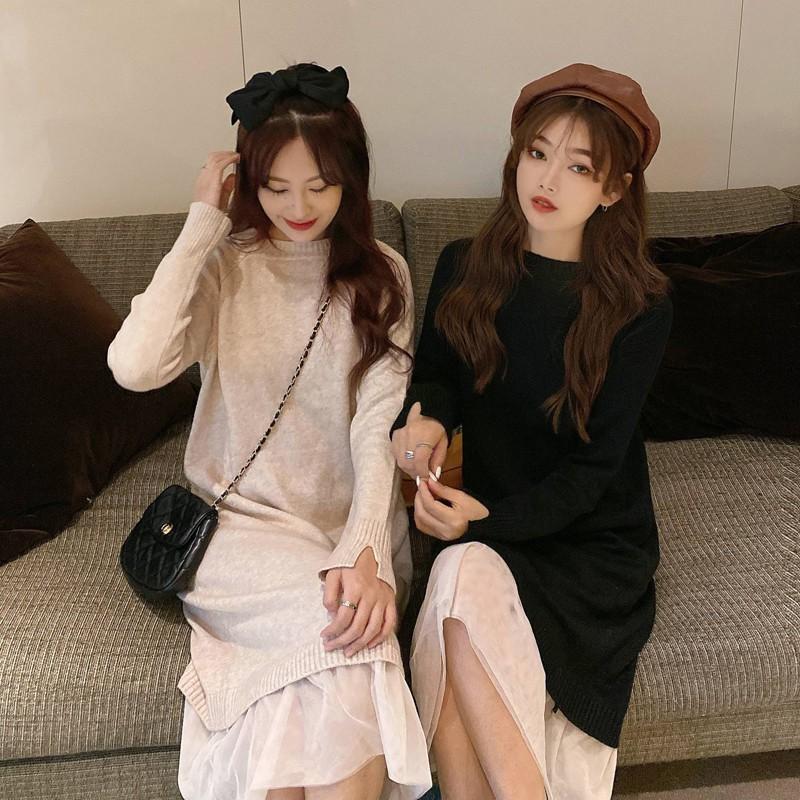NaNaNa優質現貨 連身洋裝 促銷 長款連衣裙 顯瘦 無袖洋裝連體裙 日常 娃娃裝 人氣 正韓洋裝 潮流