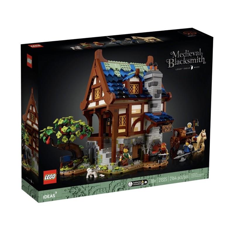 自取4300!【台中翔智積木】LEGO 樂高 Ideas 系列 21325 中世紀鐵匠小屋