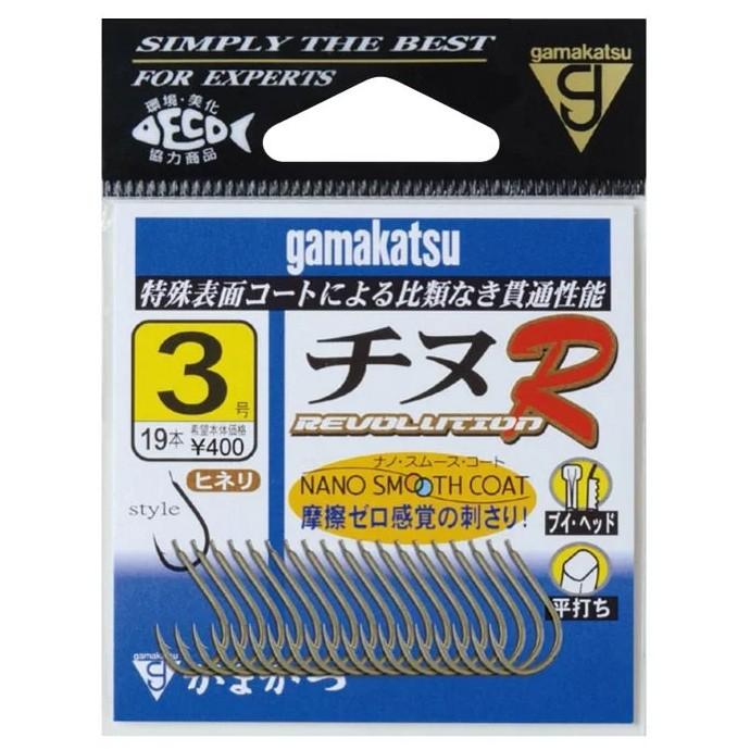 【獵漁人】GAMAKATSU チヌR 千又鉤