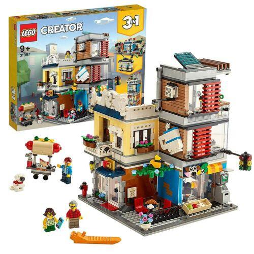LEGO 樂高 31097 CREATOR 三合一 寵物店和咖啡廳 全新未拆 公司貨