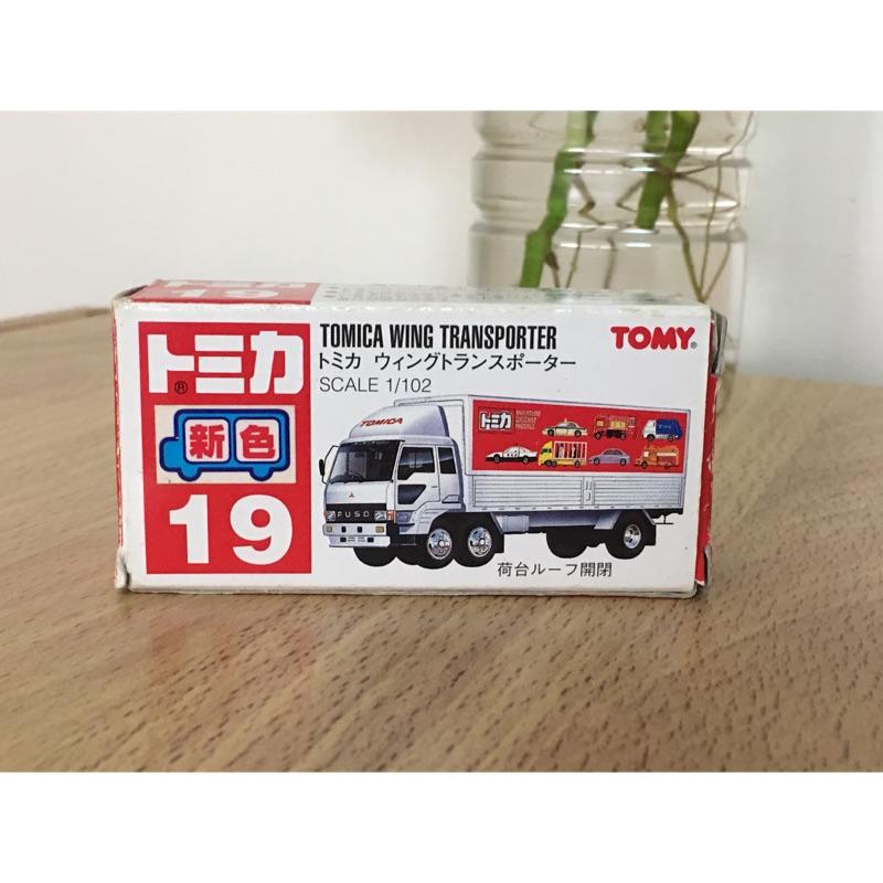 tomica 19 Tomica Wing Transporter 紅標