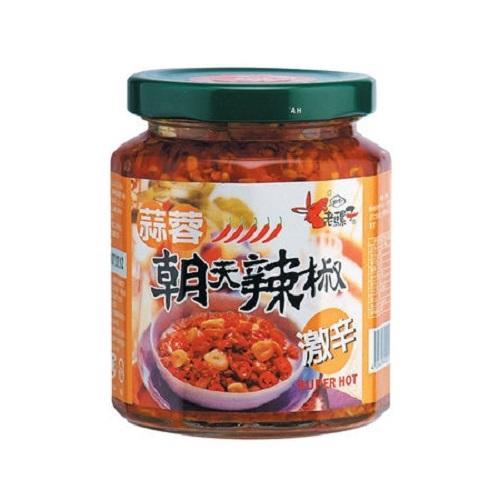 老騾子 蒜蓉朝天辣椒(105g/瓶)[大買家]